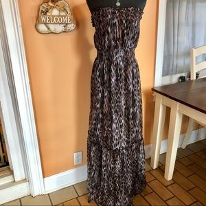 🌴Lane Bryant strapless maxi dress size 22 NWT🌴